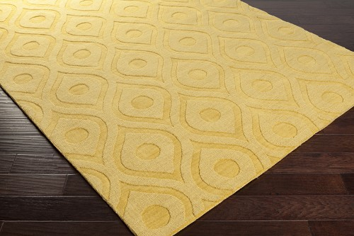 Artistic Weavers Central Park Zara AWHP4007 Yellow Area Rug