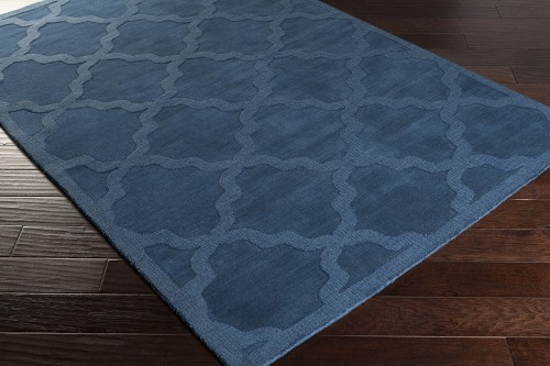 Artistic Weavers Central Park Abbey AWHP4018 Blue Area Rug