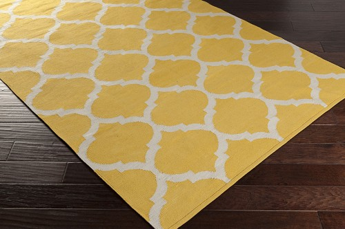 Artistic Weavers Vogue Everly AWLT3001 Yellow/White Area Rug