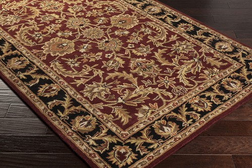 Artistic Weavers Middleton Virginia AWOC2001 Maroon/Black Area Rug