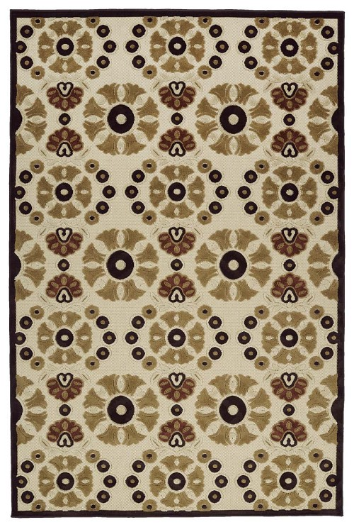 Kaleen A Breath of Fresh Air FSR06-105 Khaki Rug