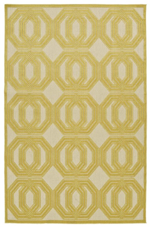 Kaleen A Breath of Fresh Air FSR103-05 Gold Rug
