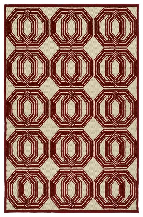 Kaleen A Breath of Fresh Air FSR103-25 Red Rug