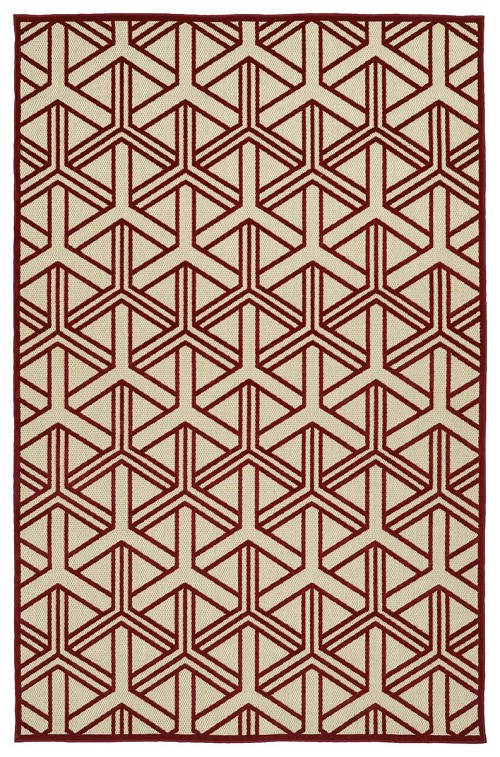 Kaleen A Breath of Fresh Air FSR106-25 Red Rug