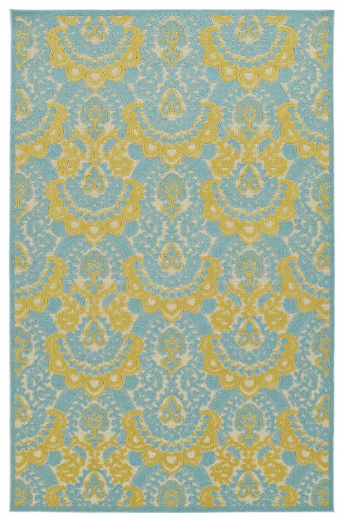 Kaleen A Breath of Fresh Air FSR107-05 Gold Rug