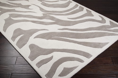 B. Smith MOS-1001 Ecru Light Gray Rug by Surya
