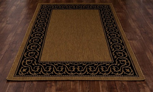 All Seasons Intention Brown Rug