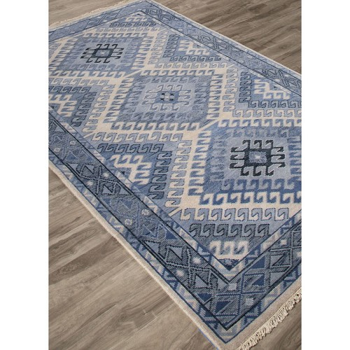 Jaipur VBA03 Village By Artimas Hobbs Dusty blue Rug