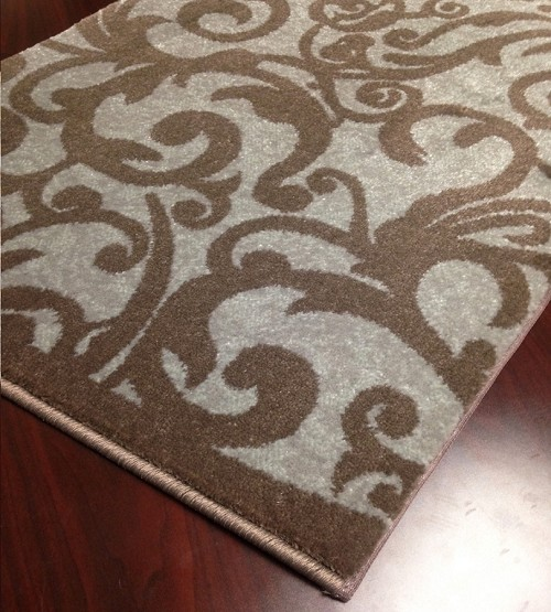 "Pisa 1845 Grey Carpet Hallway and Stair Runner - 30"" x 12 ft"