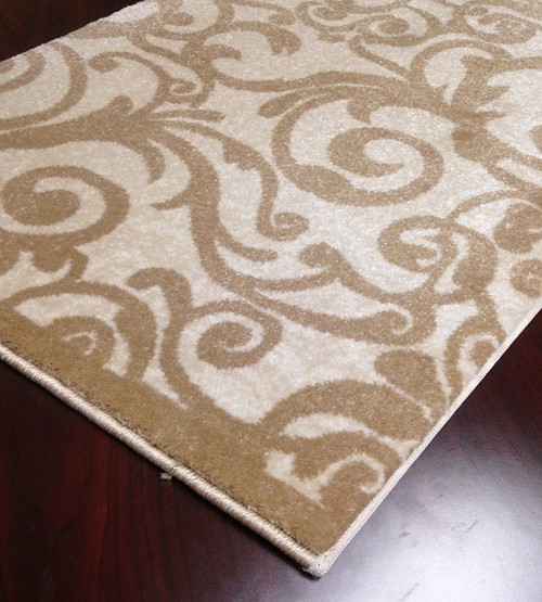 "Pisa 1845 Ivory Carpet Hallway and Stair Runner - 30"" x 17 ft"
