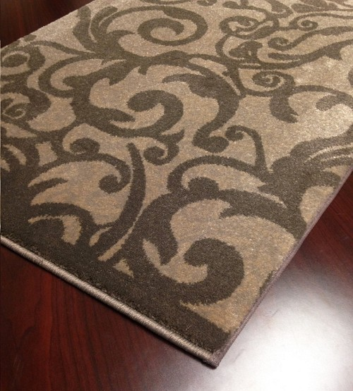 "Pisa 1845 Brown Carpet Hallway and Stair Runner - 30"" x 21 ft"