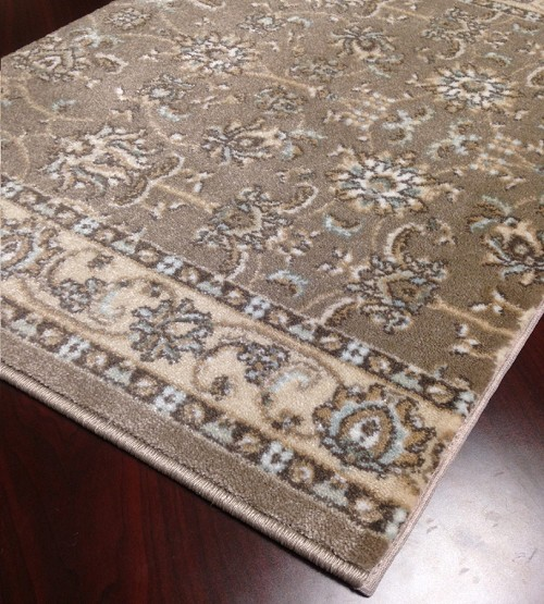 "Pisa 1780 Brown Carpet Hallway and Stair Runner - 30"" x 10 ft"