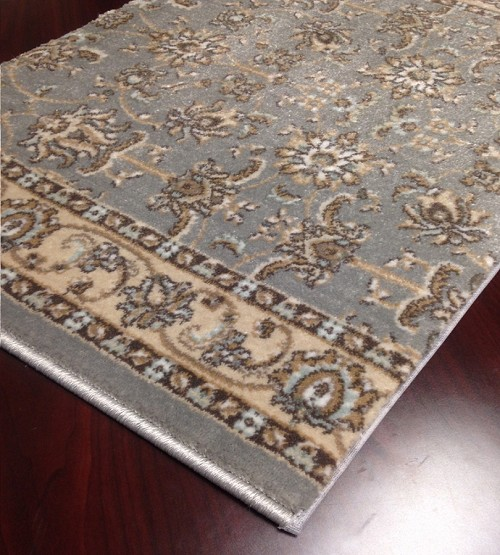 "Pisa 1780 Grey Carpet Hallway and Stair Runner - 30"" x 13 ft"