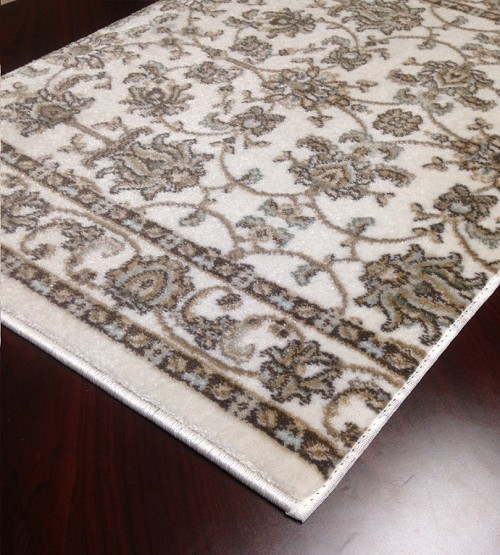 "Pisa 1780 Bone Carpet Hallway and Stair Runner - 30"" x 29 ft"