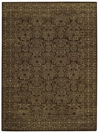 Brown Tonal Trace Rug by Capel