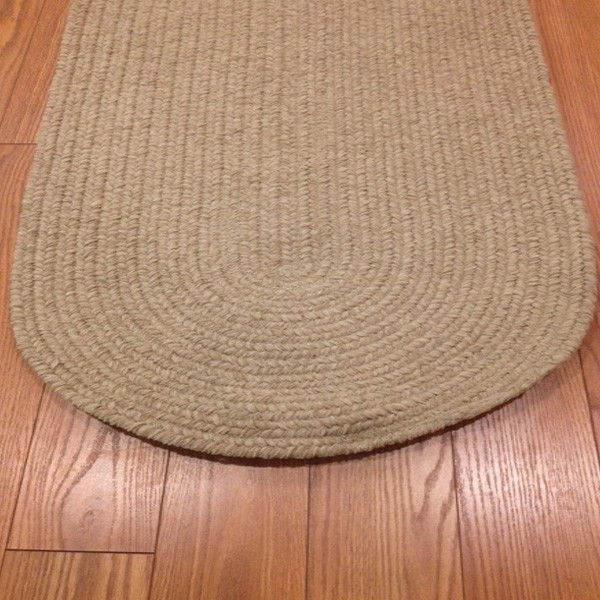 <font color = red>Clearance Section</font>: Sand Braided Rugs - $75